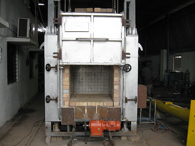 Car Bottom Furnace