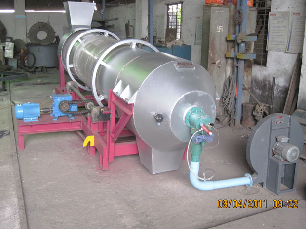 Gas Fired Rotary Dryer